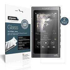 2x Sony Walkman NW-A35 Pellicola Protettiva Protezione opaco Vetro Flessibile 9H
