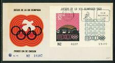 Mexico Scott #1000a FIRST DAY COVER OLYMPICS 1968 Mexico City $$
