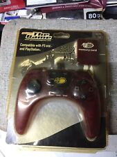 Mad Catz PS One Controller with Memory Card (PS1 Playstation)