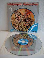 Killerkommando Klapperschlange   Laserdisc PAL Deutsch   LD: Fast wie Neu  