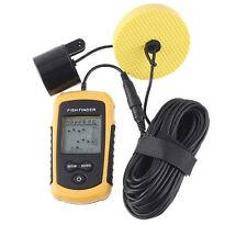 LCD 100m Fish Finder Sonar pesca Scanner Radar Allarme Sensore Fascio TRASDUTTORE