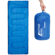 2 Season Premium 200GSM Warm Lightweight Envelope Sleeping Bag - Summer & Indoor
