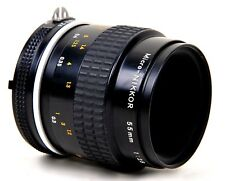 Nikon MICRO-NIKKOR 55mm 1:2 .8