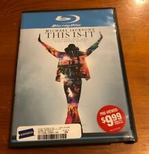 Michael Jackson's This is It (Blu-Ray Disc,