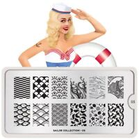 Moyou London stamping plate ,original Sailor 05 stamp nails collection