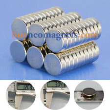 20pcs N42 12mm X 3mm Super Strong Round Magnets Disc Rare Earth Neodymium Magnet