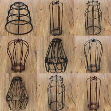 Lampenschirme Edison Lampen Schirme Hängelampenschirm Retro Metall Wire Käfig