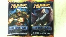 2x 2014 Core Set M14 Magic the Gathering MTG 15-Card Sealed Booster Pack English