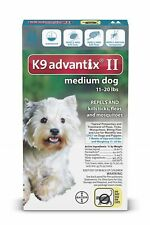 Bayer K9 Advantix II Flea & Tick Treatment for Dogs