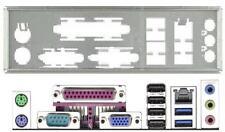 ATX pannello I/O Shield ASROCK b85m-gl #692 io SCHIELD nuovo Bracket Backplate NEW