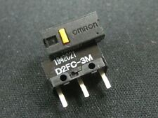 6 Pcs Brand New Omron D2FC-3M Micro Switch Microswitch for Mouse Mice