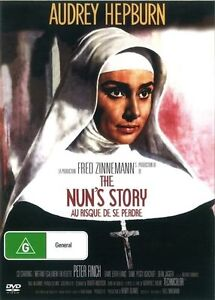 The Nuns Nun's Story DVD Audrey Hepburn New and Sealed Australian Release