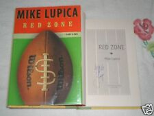 Red Zone by Mike Lupica *SIGNED*