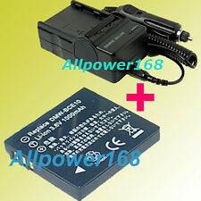 Battery + Charger For Panasonic DMW-BCE10PP DMW-BCE10 Lumix DMC-FS5 DMC-FS3 new