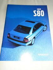 Volvo S80 range brochure Jan 1999