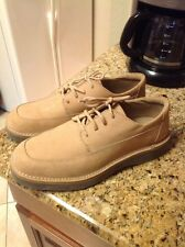MARKS & SPENCER BROWN/TAN SUEDE MENS SHOES SIZE US 11 Euro 44