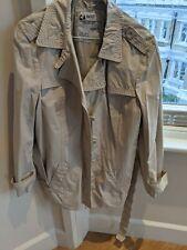 ESPRIT Ladies Cream Rain jacket