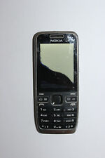 Nokia  E52 - Schwarz Aluminium (Ohne Simlock) als Ersatzteilspender