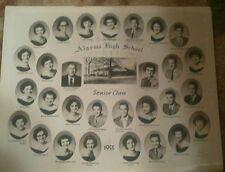 1955 Algoma High School Class Picture,Algoma Mississippi. Pontotoc County