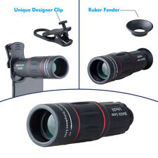 Apexel 18x Zoom iPhone/Smart Phone Camera Telescope Lens with Clamp Clip-On