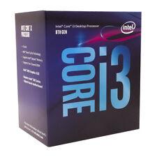 Intel Core i3-8100 8th Gen 4 Cores Processor Coffee Lake LGA1151 3.6GHz 6MB CPU