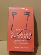 Plantronics BackBeat GO 2 Wireless Bluetooth Stereo Earbuds BLACK ( Open Box )