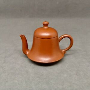 Rare Chinese Yixing Teapot Bell Shape with Marked
