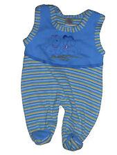 Baby Strampler Blau Gelb Untergröße Frühchen Gr. 44 Babystrampler Frühgeburt