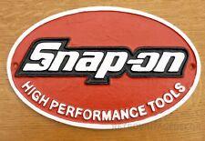 Snap on Tools Sign Large 28cm Cast Iron Spanner Workshop Garage Man Cave