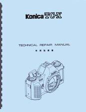 Konica TC-X Service & Repair Manual Reprint