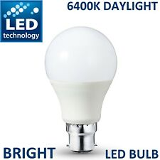 LED Bayonet Cap 18W = 150W B22 GLS Lamp Light Bulbs Cool Day White 6400K Bulb