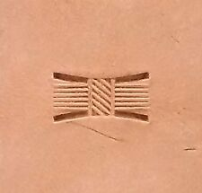 "X514S Basketweave Leather Stamp 5/8"" L (16 mm) by US Stamps"