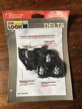 Look Delta Cleats 0 Degree Float: Black