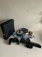 Xbox 360 Console Bundle Controller Cables HDD Video Games Plus Kinect System