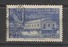 5283-SELLO FRANCIA 1939 EXPOSICION AGUA Nº430,VALOR YVERT 5,50€,USADO.