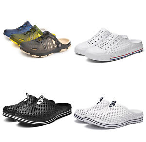 Unisex Slip On Clogs Slipper Mules Shoes Garden Sandals Beach Summer Sports