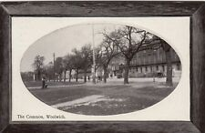 London Postcard. The Common Woolwich, Greenwich. Mailed 1913