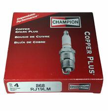 4 Pack Genuine Champion RJ19LM Spark Plug Copper Plus 868 SAME DAY SHIP BY 2PM!!