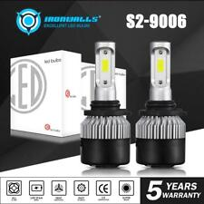 IRONWALLS 9006 HB4 LED Headlight Bulbs Kit Low Beam 6000K 1320W 198000LM White