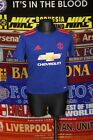 5/5 Manchester United boys 4-5 years away football shirt jersey
