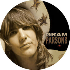 IMAN/MAGNET GRAM PARSONS . international submarine band keith richards byrds