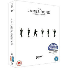 THE JAMES BOND 007 COLLECTION (ALL 24 FILMS) BLU-RAY BOX SET + DIGITAL DOWNLOAD