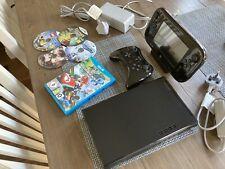 Nintendo Wii U 32GB Black - Mario Kart 8 Pro Controller - Immaculate Condition