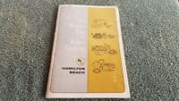 Vintage HAMILTON BEACH The Blender Way To Better Cooking Recipes Cookbook R1
