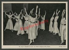 Mary Wigman Ausdruckstanz Frauen Tanzgruppe Lebensreform Schönheit Harmonie 1934