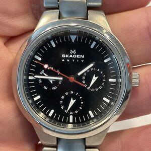Skagen Aktiv Stainless Steel Watch