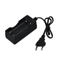 AC 110V 220V Dual Charger For 18650 3.7V Rechargeable Li-Ion Battery EU Plug HOT