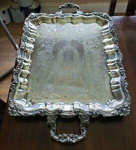 Sheridan Silver Plated Footed Butler Tray