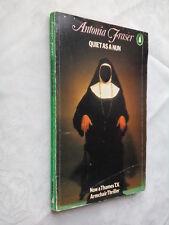ANTONIA FRASER.QUIET AS A NUN,JEMIMA SHORE.FILM-TIE,1ST S/B 1978,PENGUIN CRIME