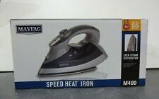 Maytag M400 Speed Heat Steam Iron Vertical Steamer (Defect)
